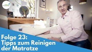Matratze reinigen - Tipps | Folge 23