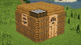 Самый маленький дом 3х3 в котором есть все!