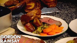 How To Make the Perfect Roast Beef Dinner - Gordon Ramsay