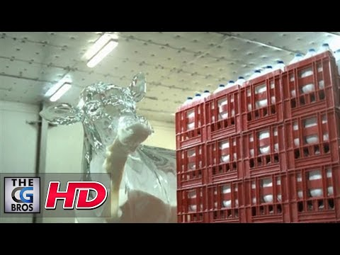 "CGI VFX Spot :  ""Glass Cow""  by – AssemblyLTD"