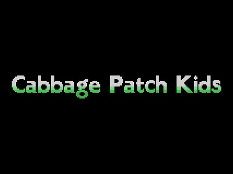 Cabbage Patch Kids (1984, MSX, Konami)