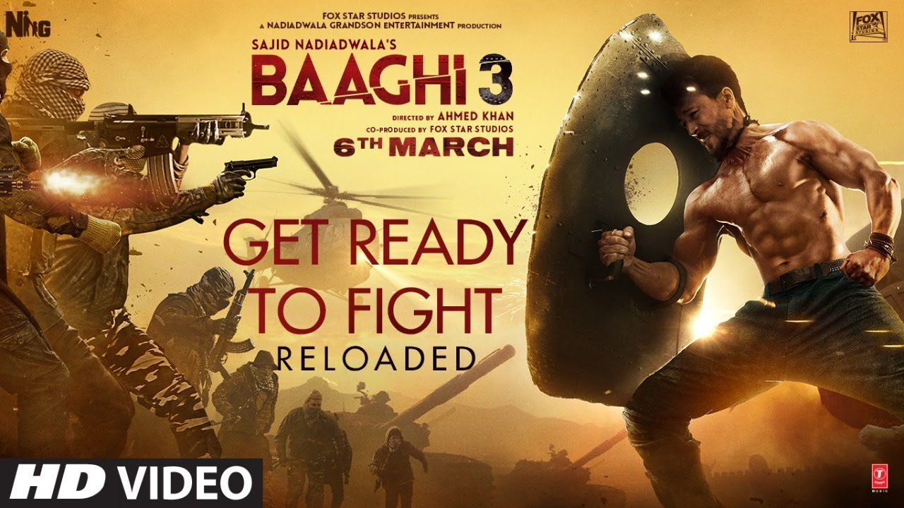 Get Ready To Fight Baaghi 3