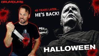 DRUMDUMS REVIEWS HALLOWEEN 2018 (One Word...WOW!)