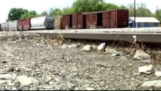 Are those railroad tracks missing something?