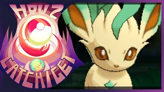 Leafeon  - (Pokémon) - How & Where to catch/get - Evolve Eevee into Leafeon in Pokemon X and Y