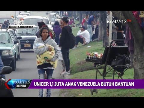 UNICEF: 1,1 Juta Anak Venezuela Butuh Bantuan