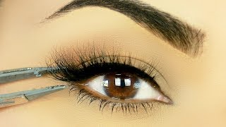 TRY THIS!! Easiest Way To Apply False Eyelashes!