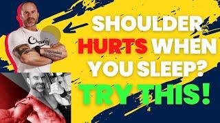 Shoulder Hurts When You Sleep or Lift? Do this!   Trevor Bachmeyer   SmashweRx   Kholo.pk