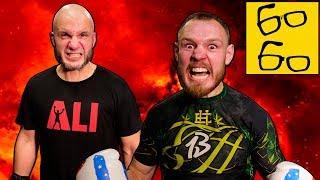 Спарринг по боксу Шталь VS Борщев! Боксер против кикбоксера — кто выиграл бой?