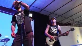 "Frontside Five playing ""Tongue Like A Battering Ram"" (Faction cover,) at PRPW 2016 Day 2"