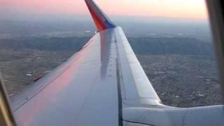 SWA takeoff PHX to ABQ