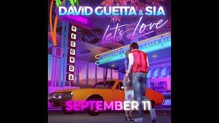 David Guetta & Sia - Let's Love (teaser)