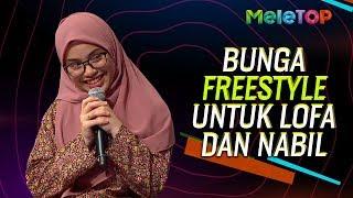 Rapper Bunga freestyle eksklusif untuk Neelofa & Nabil | MeleTOP