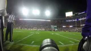 LSU Tigers Sideline Photography