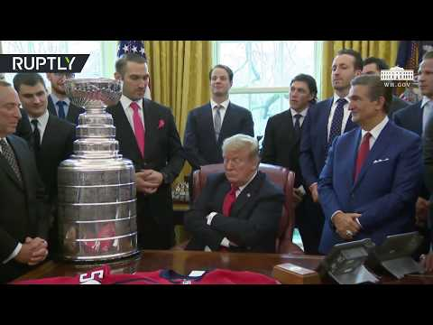 'Ivanka is a tremendous fan of 'Alexander the Great' Ovechkin' – Trump on NHL champion team captain