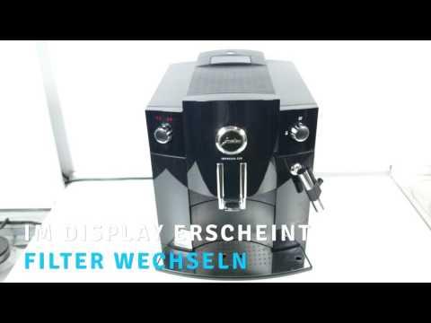 Wie tauscht man den Wasserfilter im Jura Impressa c60 Kaffeemaschine aus
