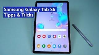 Samsung Galaxy Tab S6: Unsere besten Tipps & Tricks (2019)