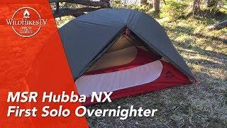MSR Hubba NX 1 Person - Solo Overnighter - Test