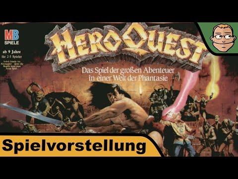 HeroQuest - Brettspiel - Spielvorstellung