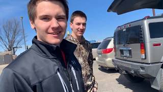 Teenagers buying wrecked cars off Copart