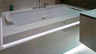 Ванная комната 7 квадратов (4340х1630мм) наш ремонт и дизайн