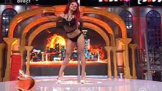 Ana Maria Mocanu DANS SEXY LA BARA
