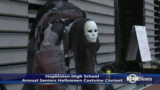 Hopkinton High School 2019 Senior Halloween Costume Contest