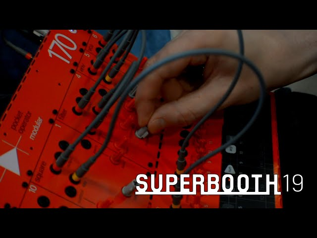 Teenage Engineering 170 Modular (Superbooth19)