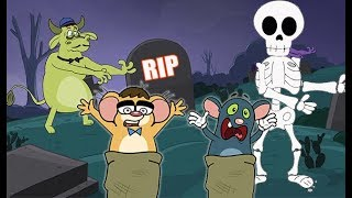 Rat-A-Tat |'RIP Rats Vacation in House of Horrors Cartoons'| Chotoonz Kids Funny Cartoon Videos