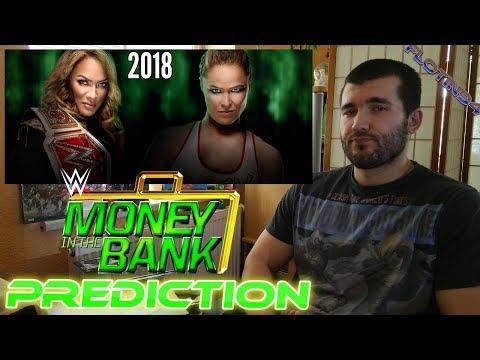 Předpověď WWE MONEY IN THE BANK 2018 | FloTin