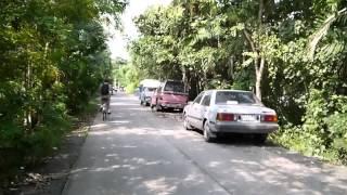 preview picture of video 'Cycling around Phra Pradaeng, Bangkok'