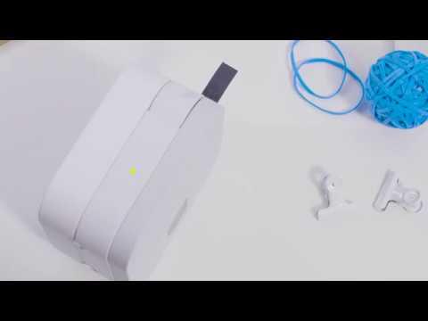 Brother PT-P300BT Étiqueteuse CUBE pour téléphone intelligent