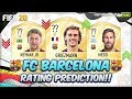 FIFA 20 | FC BARCELONA PLAYERS RATING PREDICTION!! | FT. MESSI, NEYMAR, GRIEZMANN...