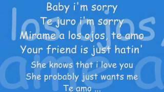 AvenTura - I'm Sorry - [ Con LeTra ]