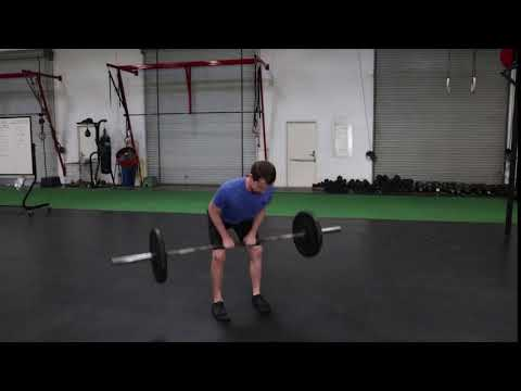 Close Grip Barbell Bent Over Row AME