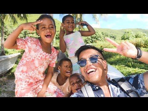 BEST DAYS IN FIJI!! MANTA BAREFOOT ISLAND!! (257 | Fiji Travel Vlog)