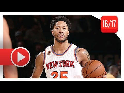 Derrick Rose Full Highlights vs Bulls (2017.01.12) – 17 Pts