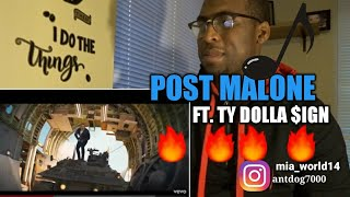 Post Malone - Psycho ft. Ty Dolla $ign(REACTION)