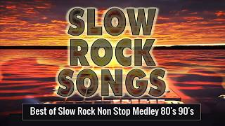 Nonstop Medley Love Songs 80's 90's Playlist   Best Slow Rock Love Song Nonstop