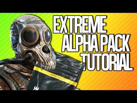 EXTREME ALPHA PACK TUTORIAL | Rainbow Six Siege