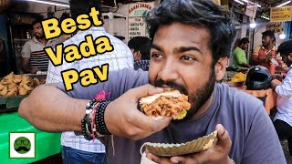 Mumbai's Best Vada Pav || Indian Street Food Series|| Veggiepaaji