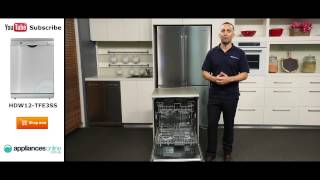 Haier Dishwasher HDW12 TFE3SS reviewed by product expert - Appliances Online
