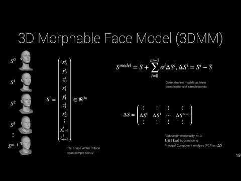 What is a Linear 3D Morphable Face Model?