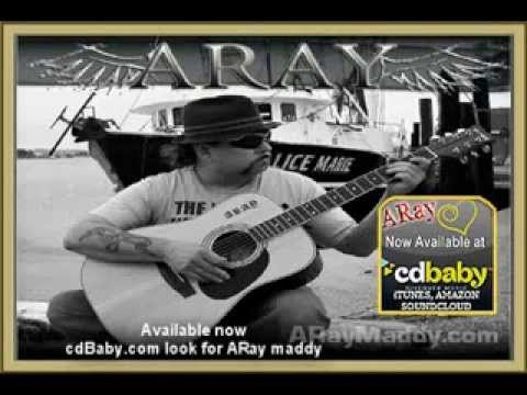 ARay Blues Rock CD release CDBaby Itunes Soundcloud Amazon music