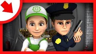 Мультфильм про полицейское расследование. мультфильм где Винтик помогает полицейским - Серии подряд