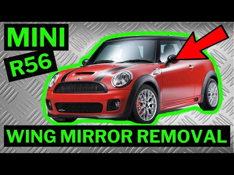 BMW MINI R56 - Wing Mirror Removal