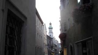 preview picture of video 'HALL IN TIROL (A) - Stadtpfarrkirche St. Nikolaus - Teilgeläute'