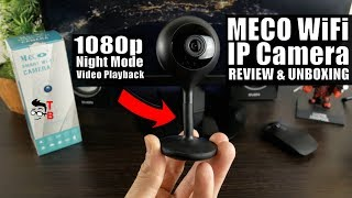 MECO WiFi IP Camera REVIEW: 1080P Home Security Camera For only $40!