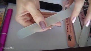 All About Nail Files (Glass,Emery,Ceramic) And How To Care For Them