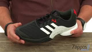 Ανδρικά παπούτσια τένις Adidas Barricade Clay 2018 video